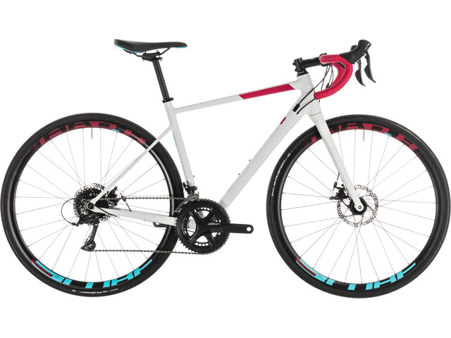 Cube Axial WS Pro Disc Women White'n'Berry